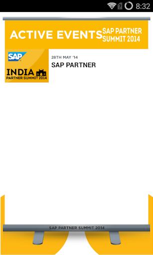 SAP Partner Summit 2014 App