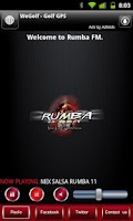 Screenshot of Rumba FM
