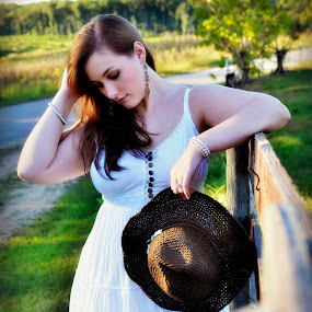 Country girl by Crystal Hulskotter - People Portraits of Women