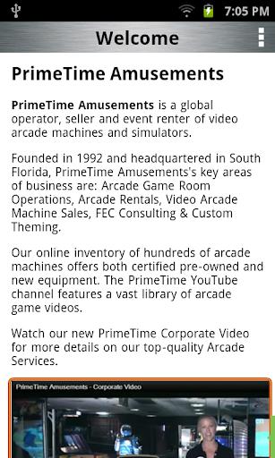 【免費商業App】Primetime Amusements-APP點子
