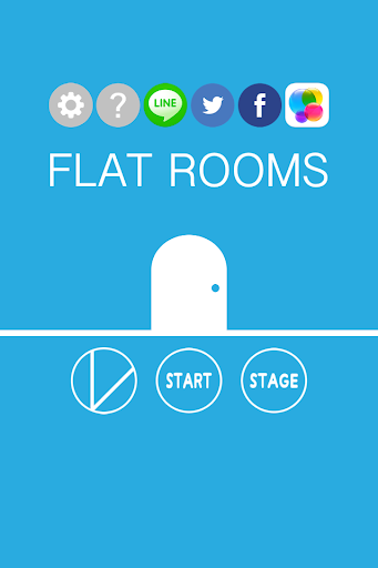 FLAT ROOMS - room escape game