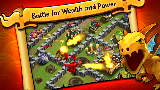 Battle Dragons:Strategy Game Screenshot 11