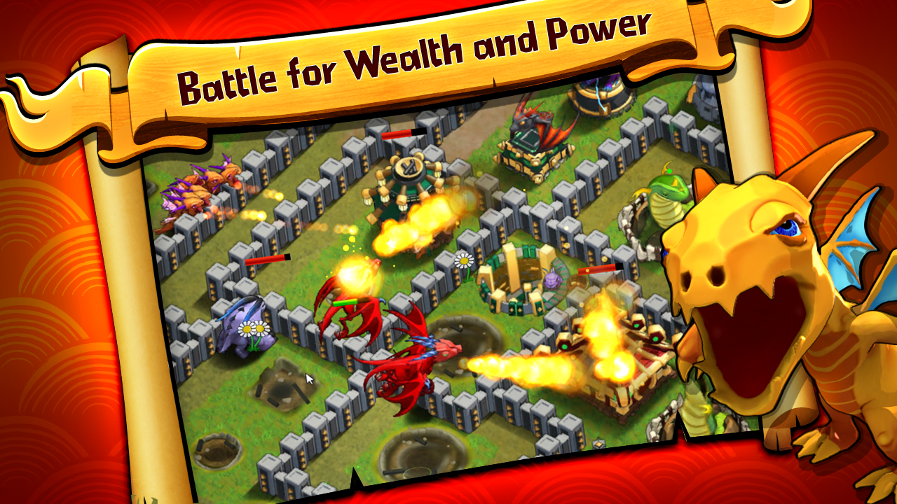 Battle Dragons:Strategy Game - screenshot