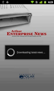 Arthur Enterprise News - screenshot thumbnail