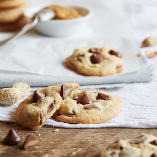 NESTLÉ® TOLL HOUSE® Peanut Butter Filled DelightFulls Chocolate Chip Cookies.
