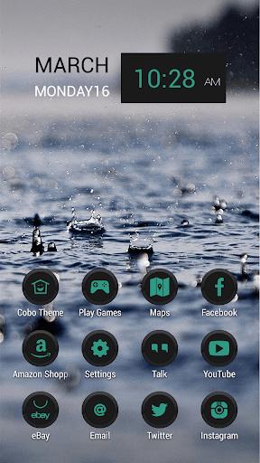 雨水滴自然主題