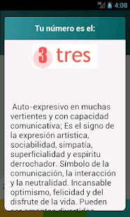 Numerología - screenshot thumbnail
