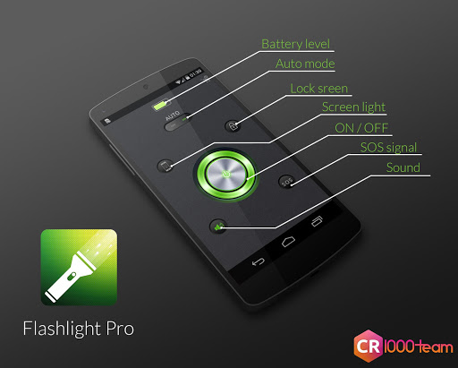 Flashlight Pro - CR1000Team