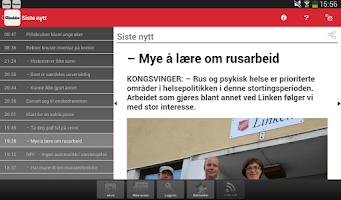 Screenshot of Glåmdalen