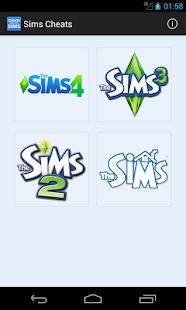Cheats for The Sims - screenshot thumbnail