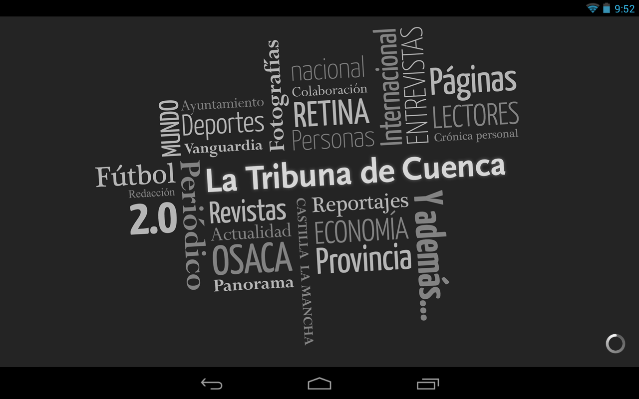 La Tribuna de Cuenca- screenshot