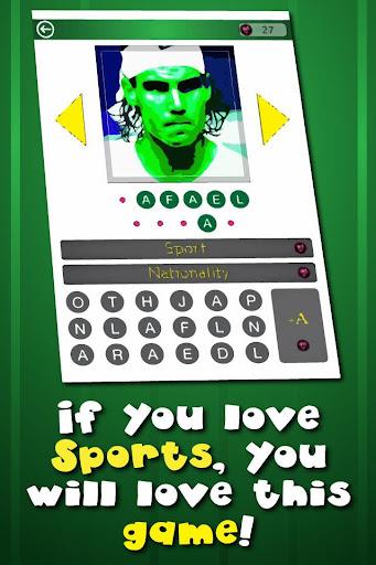 Famous Athletes PopArt Quiz