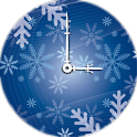 Snow Clock Widget