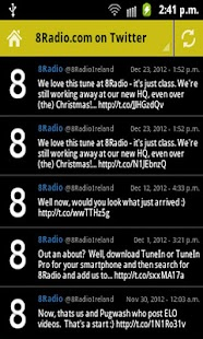 8Radio.com- screenshot thumbnail