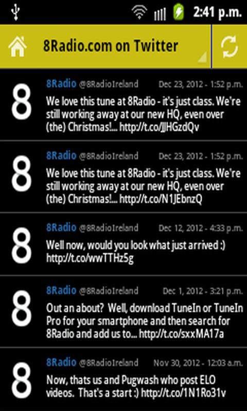 8Radio.com - screenshot