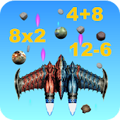 Space Jet Fighter Math Game