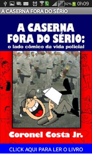 LIVRO A CASERNA FORA DO SERIO