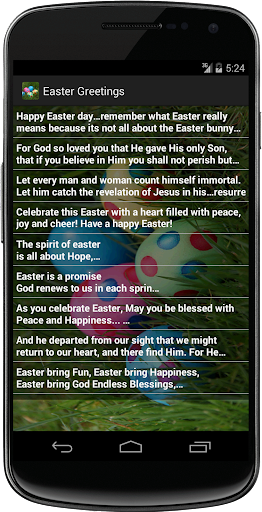 Easter Greetings SMS Messages