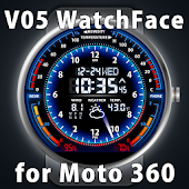 V05 WatchFace for Moto 360