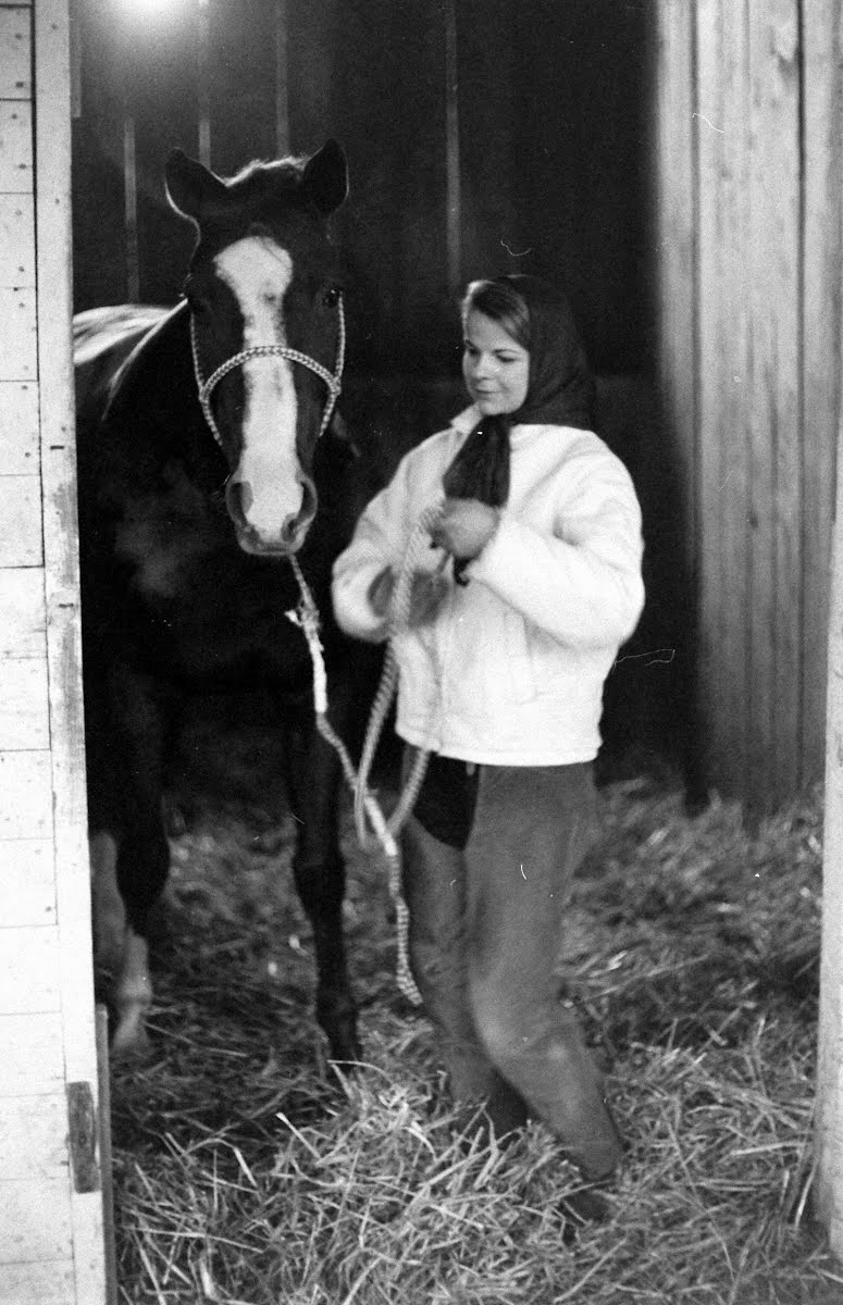 Girl Jockey Penny Ann Early