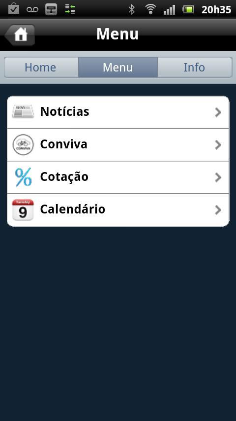 NetSeg: captura de tela