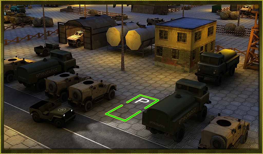 Army War Truck Simulator 3D - screenshot