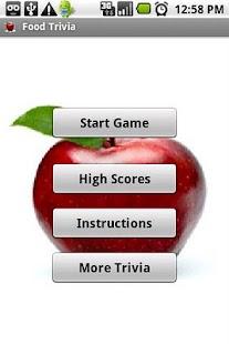 Food Trivia - screenshot thumbnail