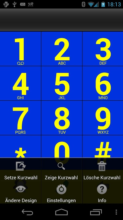 BigDialer- screenshot