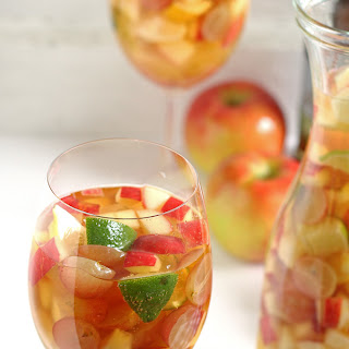 White Wine Apple Cider Sangria.