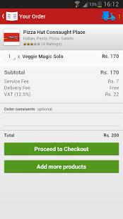 Foodpanda - Food Delivery - screenshot thumbnail