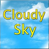 Cloudy sky LIVE wallpaper