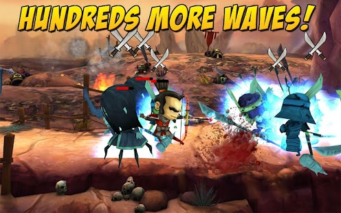 SAMURAI vs ZOMBIES DEFENSE 2 Screenshot 18