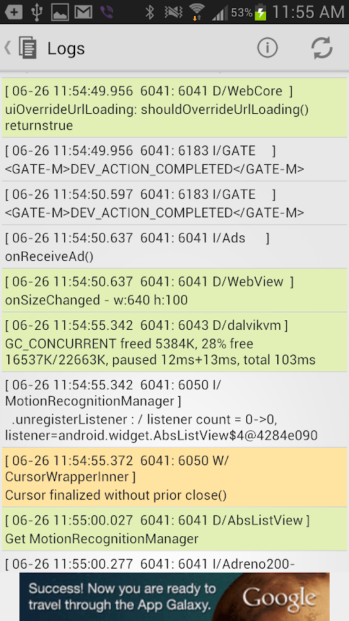 MyDroid System Info- screenshot