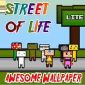Street of Life Wallpaper LITE