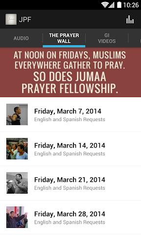 Jumaa Prayer Fellowship