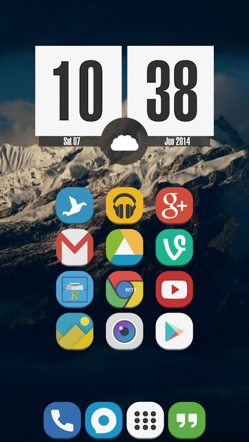 Download Stock UI - Icon Pack v121.0 Full Apk - screenshot