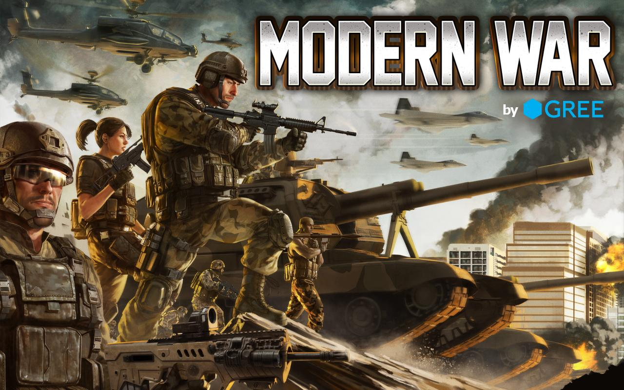 Modern War by GREE: captura de pantalla