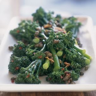 Broccolini with Garlic and Anchovies