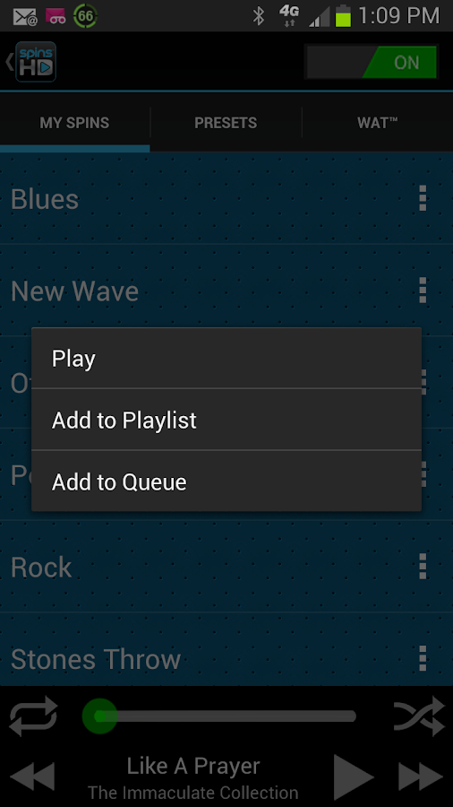 MAX-D HD Audio Player - screenshot