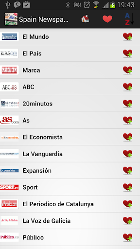 Spain Newspapers And News