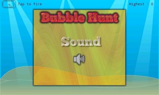 Bubble Hunt - Shooting Game screenshot