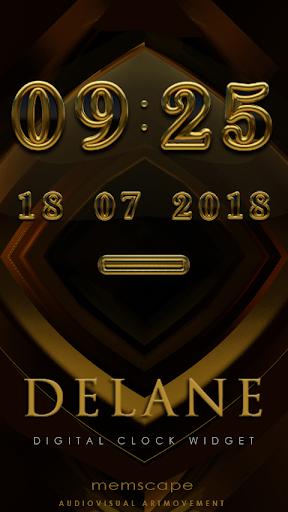 DELANE Digital Clock Widget
