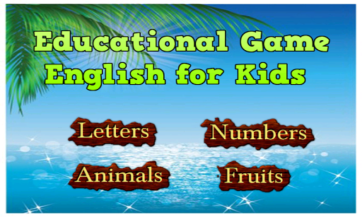 Education Game English for Kid
