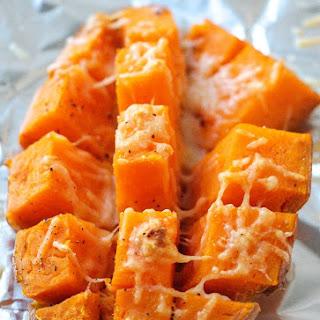 Easy 15 Minutes Roasted Sweet Potatoes