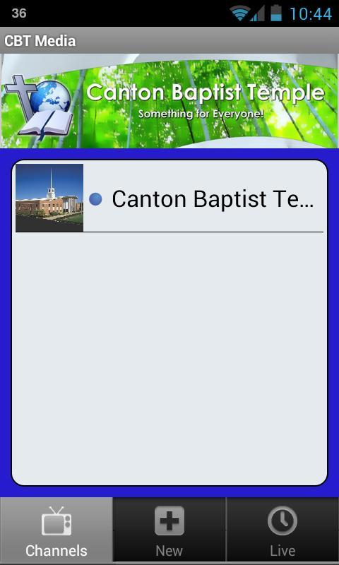 Canton Baptist Temple - screenshot