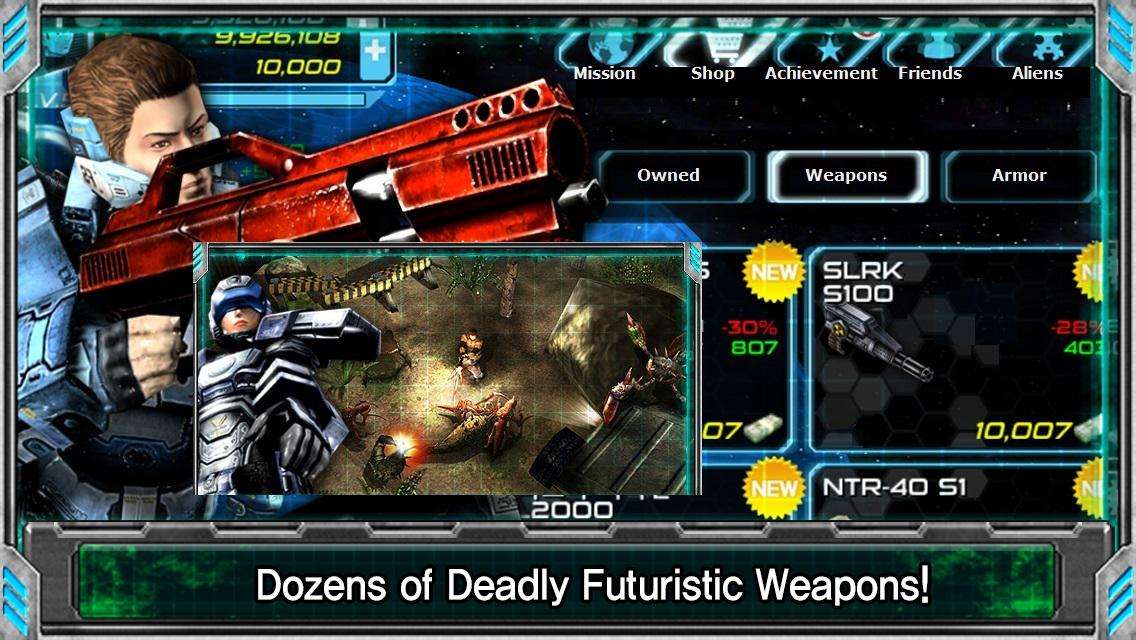 Alien Shooter EX - screenshot