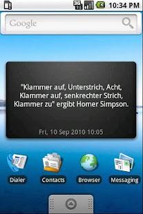 Unnützes Wissen Widget - BETA- screenshot thumbnail