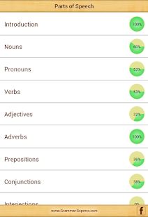 Grammar: Parts of Speech - screenshot thumbnail