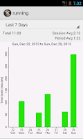 Screenshot of Master in 10k (time tracker)