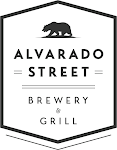 Logo of Alvarado Street Nitro Strawberry Rhubarb Gose